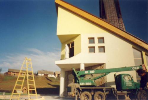 Výstavba Kostola sv. Jozefa